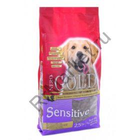 Корм для чувствительных собак с индейкой и рисом
