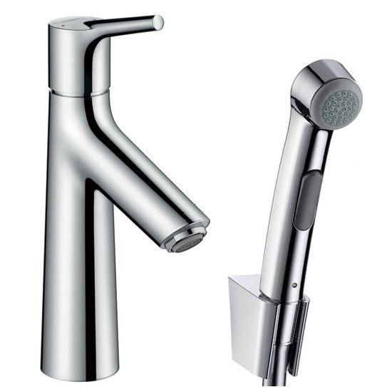 Смеситель с гигиеническим душем Hansgrohe Talis S для раковины 72290000 ФОТО