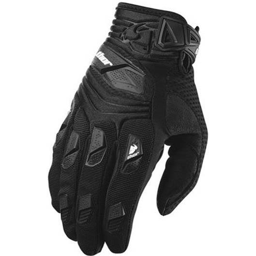 Thor - Deflector Black перчатки, черные