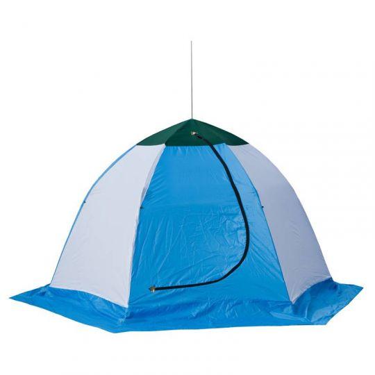 Палатка   зимняя Стэк  3-х мест брезент ELITE 260*230*160