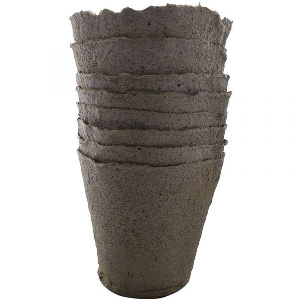 Торфянные стаканчики (6*6 см, 8*8 см, 10*11 см)