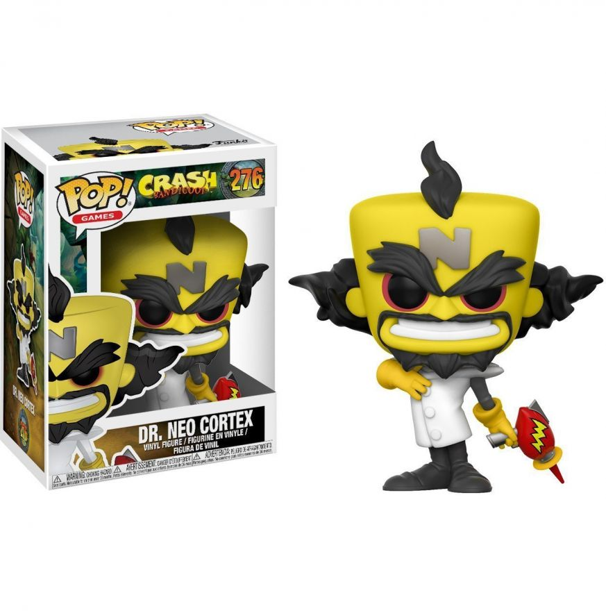 Фигурка Funko POP! Vinyl: Games: Crash Bandicoot: Neo Cortex 25655
