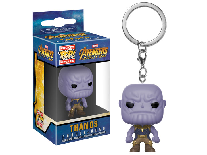 Брелок Funko Pocket POP! Keychain: Marvel: Avengers Infinity War: Thanos 27301-PDQ