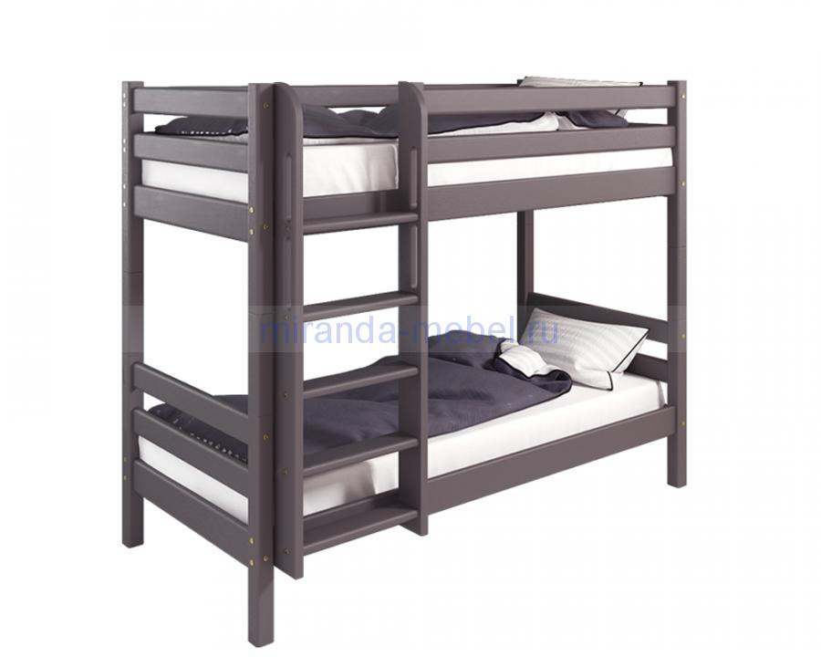 Соня Вариант №9 Кровать 2х ярусная с прямой лестницей