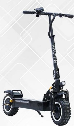 Электросамокат Halten RS-03 Черный 24Ah