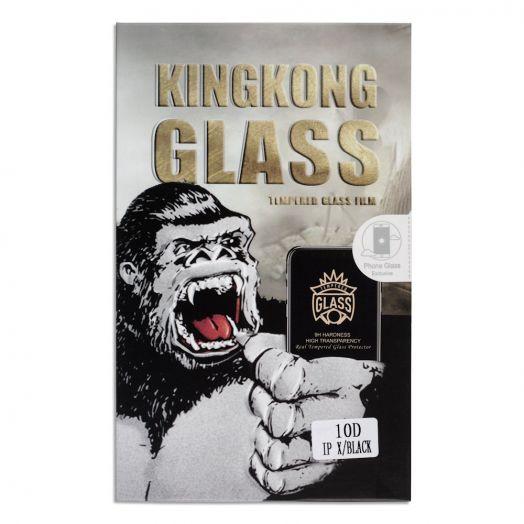 Защитное стекло King Kong Samsung S8 Full Glue черный