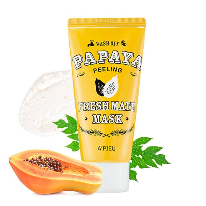 Маска-пилинг для лица с папайей A'PIEU Fresh Mate Papaya Mask (Peeling) 50мл