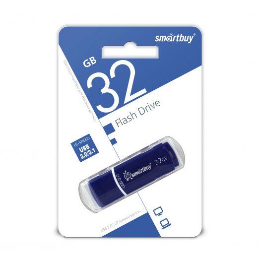 USB накопитель  3.0 Smartbuy 32GB Crown Blue