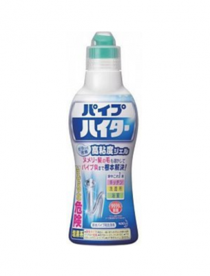 Kao Haiter Высокоэффективный гель для очистки сливных труб 500 гр