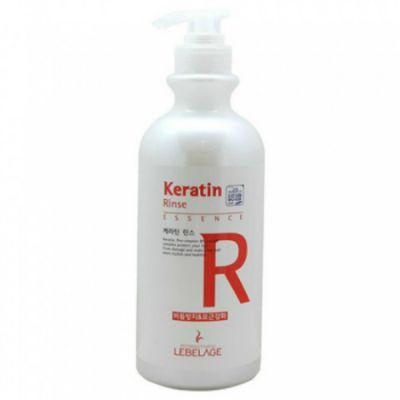 LEBELAGE KERATIN RINSE Ополаскиватель для волос КЕРАТИН, 750мл
