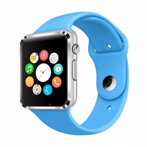 Умные часы Smart Watch W8, цвет синий