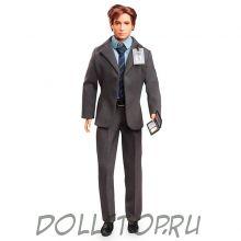 "Коллекционная кукла Барби Агент Фокс Малдер ""Секретные материалы"" - Barbie The X Files Agent Fox Mulder Doll"