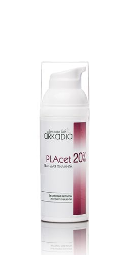Гликолевый пилинг 20% PLAcet, рН=2,6