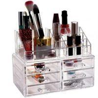 Акриловый органайзер для косметики Cosmetic Storage Box, 6 ящичков (1)