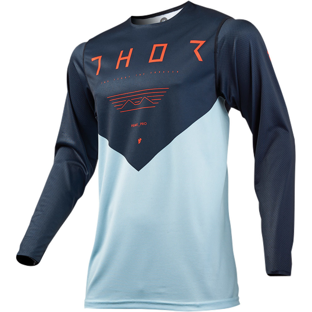 Thor - 2019 Prime Pro Jet Midnight/Sky джерси, синее