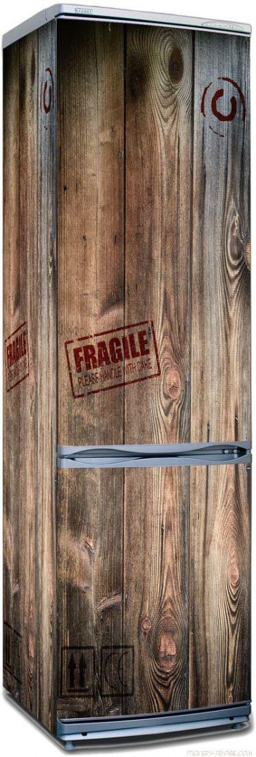Наклейка на холодильник -  Посылка для Робинзона