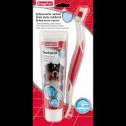 Beaphar Зубная паста + щетка для собак и кошек