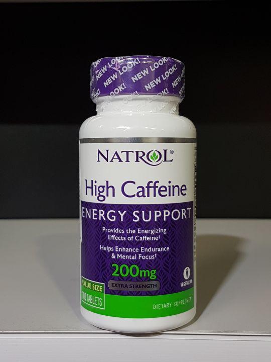 Natrol - High Caffeine 200 мг (100 табл.)
