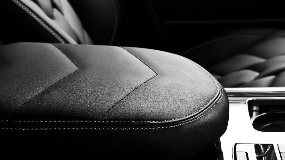 Обшивка центрального подлокотника (Range Rover Sport 2014)