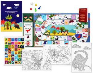 Набор с играми «Путешествие к динозаврам»