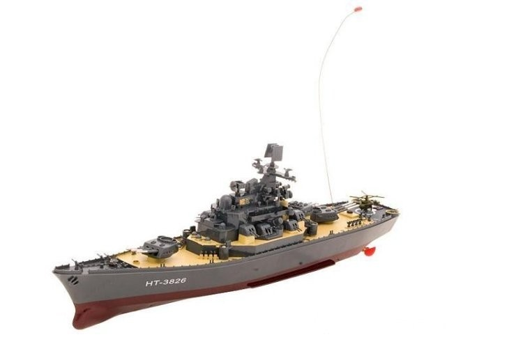 Радиоуправляемый корабль Heng Tai Battleship Yamato 40Mhz