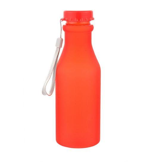 Бутылка для воды Bra Free, цвет красный
