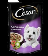 CESAR с ягненком и овощами 100 г