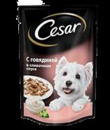 CESAR с говядиной в сливочном соусе 100 г