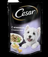 CESAR с ягненком в сырном соусе 100 г