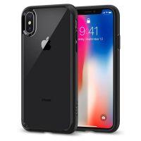 Чехол Spigen Ultra Hybrid для iPhone X черный