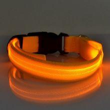 Светящийся ошейник, Оранжевый