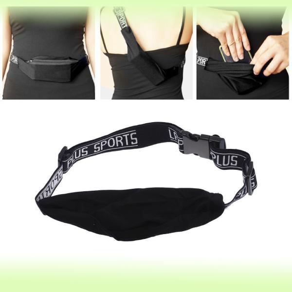 Поясная сумка для спорта Invisible storage belt