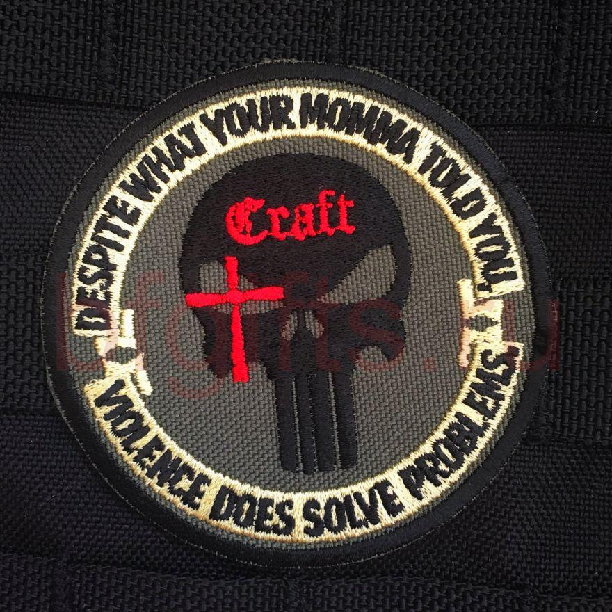 """Патч """"Craft International"""" Криса Кайла"""