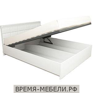 Кровать «Азалия 18 ПМ» Бодега белый