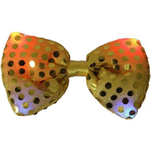 Светящаяся карнавальная бабочка, цвет желтый