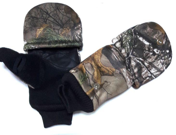Зимние теплые перчатки для охотников, рыбаков и туристов