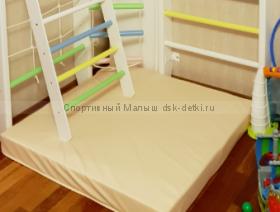 Мат гимнастический 1,0 х 1,0 х 0,1 м