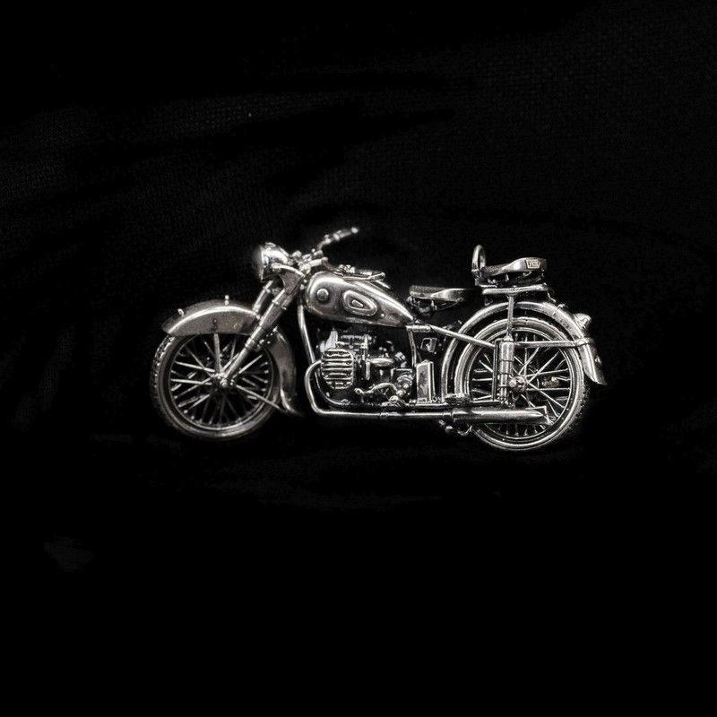 СЕРЕБРО Мотоцикл М-72 1:35