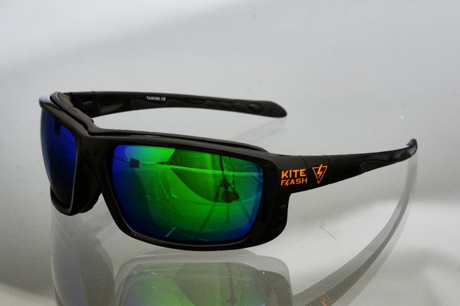 Очки для кайтсерфинга Kiteflash CapeTown Brilliant Black Amalgam