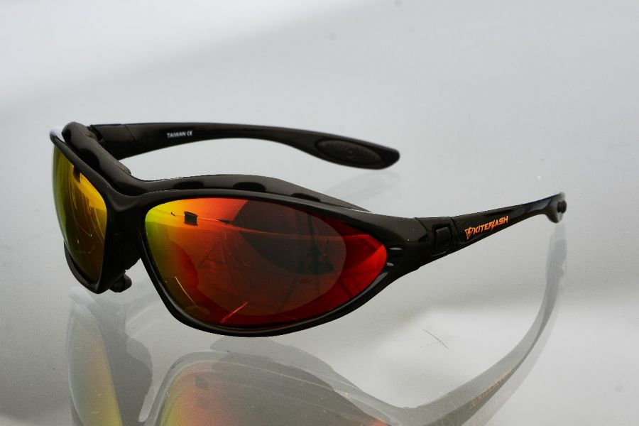 Очки для кайтсерфинга Kiteflash Tarifa Brilliant Black Amalgam