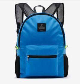 Складной рюкзак Wing travel голубой