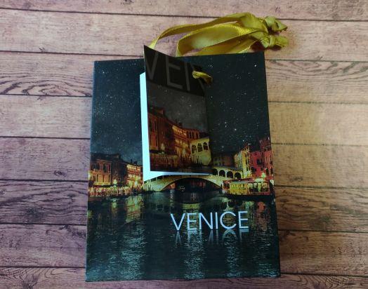 """Подарочный пакет """"Венеция"""", маленький S"""