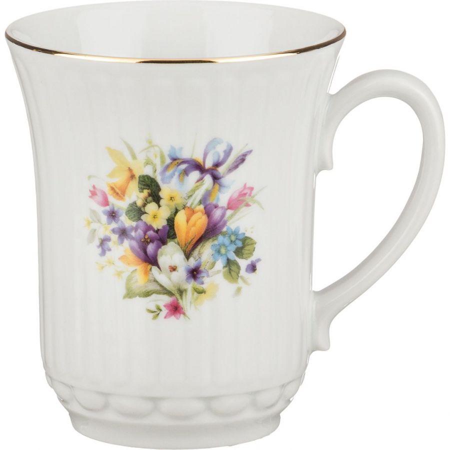"""Кружка """"Весенние цветы"""" h=10 см, 300 мл"""