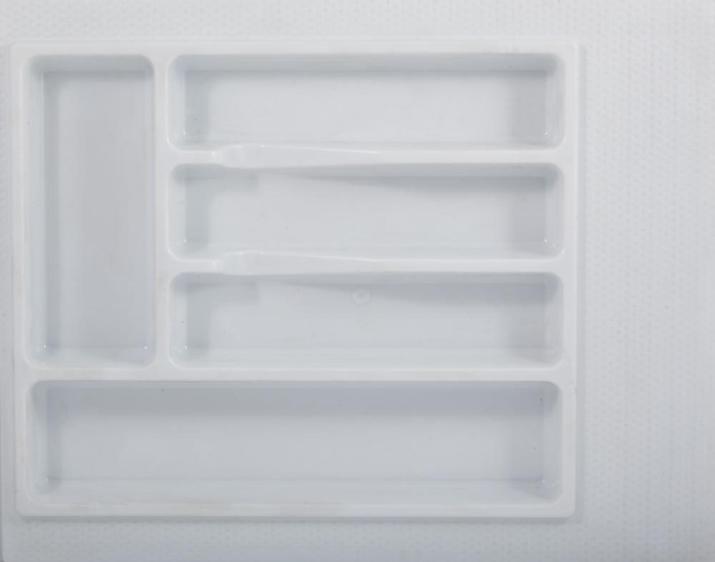 Вкладка для столовых приборов 300 мм белая