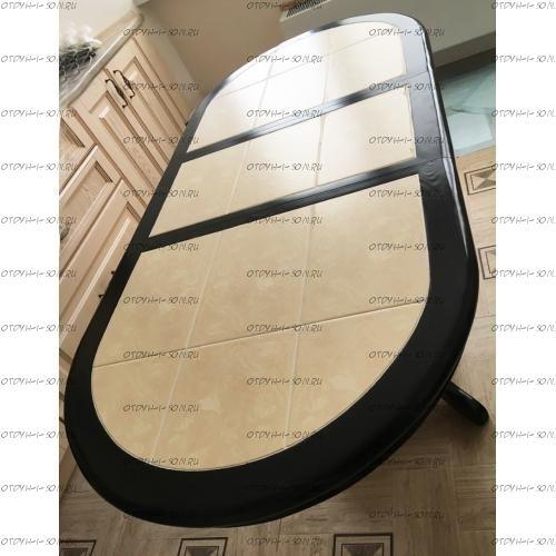 Стол обеденный Грэксон-2 овал (ВМК Шале) (120/150х70х75)