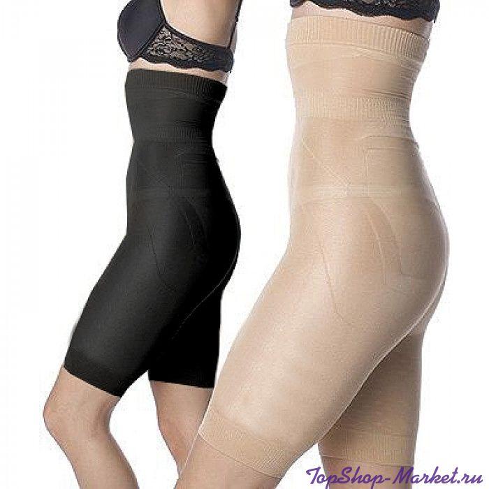 Утягивающие шорты Slim and Lift (Слим энд Лифт), S, Цвет: Черный