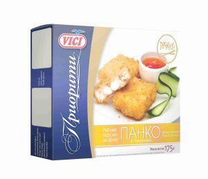 Рыбные порции из филе хека VICI Панко 175 гр.