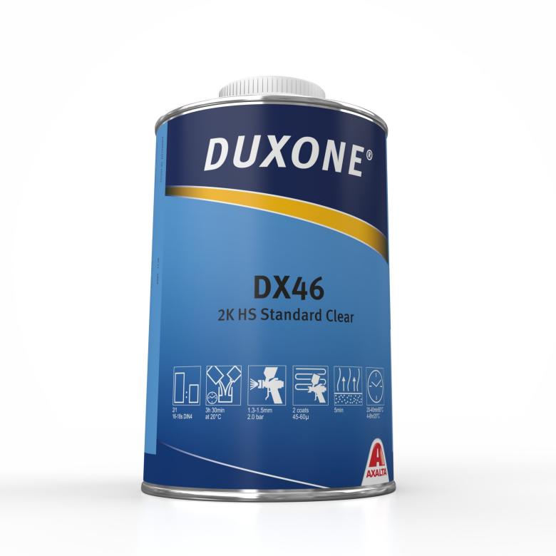 Duxone DX46 2К HS Акриловый лак, 1л.
