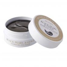 Black Pearl & Gold Eye Patch Патчи для глаз с черным жемчугом и золотом 1,4гр*60