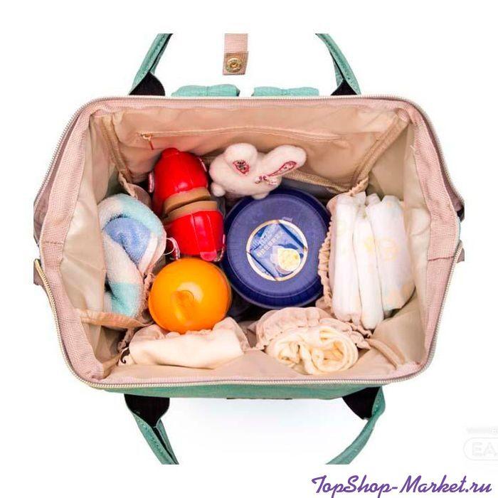 Сумка-рюкзак для мамы Mummy Bag, Цвет: Светло-серый